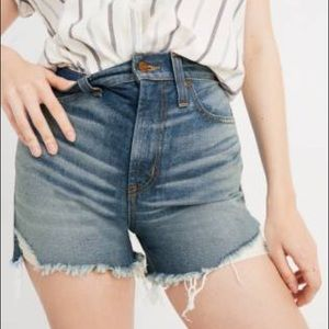 Madewell Perfect Vintage Jean Shorts NWT 25